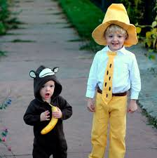Curious George Costume Double Trouble 18 Halloween Costumes Made For Two
