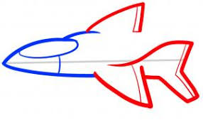 how to draw how to draw a jet for kids hellokids com