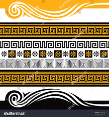 royalty free vector set of greece ornaments you can 74470744