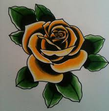 traditional american rose tattoo szukaj w google tattoos