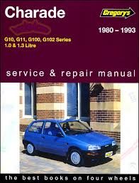daihatsu charade shop manual service repair book haynes chilton 80