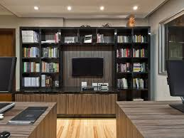 stunning home office designs ideas with wood pattern plus white