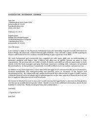 resume exles for college internships in florida brilliant ideas of cover letter for internship finance for resume