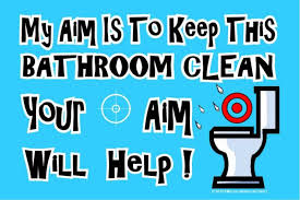 keep the bathroom clean toilet bathroom signs to keep clean pinterdor reading