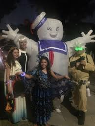 ghost busters halloween what i learned on halloween as the massive 8 foot tall stay puft