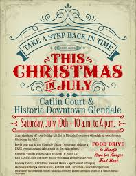 12 ways to get in the spirit christmas in july visit glendale
