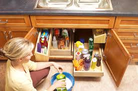 installing pull out drawers in kitchen cabinets do it yourself install slide out kitchen storage australian