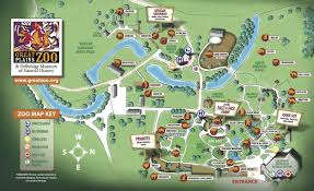 The Great Plains Map Zoo Map Sioux Falls Sd Great Plains Zoo