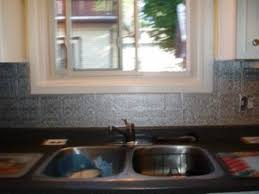 faux kitchen backsplash a faux tin kitchen backsplash thriftyfun