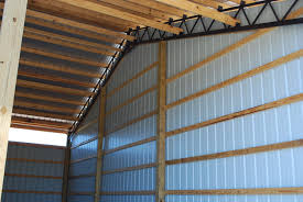 How To Build A Pole Barn Building by Open Shelter And Fully Enclosed Metal Pole Barns Smith Built
