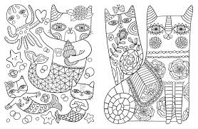 amazon com posh coloring book cats u0026 kittens for comfort