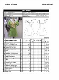 House Specification Sheet by Shirts Menswear Specification Sheet Template Formal Shirt Garment