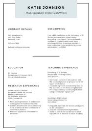 Resume Templates For Teachers Free Resume Templates Canva