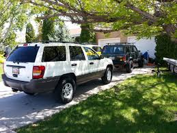 2000 gold jeep grand cherokee how well do the wj u0027s do in snow grandcherokee