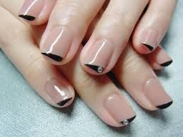 37 best manis 2 try french or funky tips images on pinterest