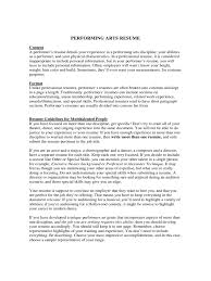 How To Make A Talent Resume Resume Cover Letter Example Of Resume Cover Letter