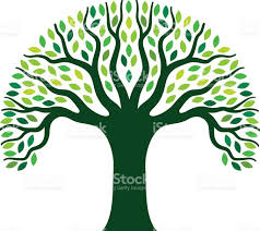 simple graphic tree illustration stock vector 501205022 istock