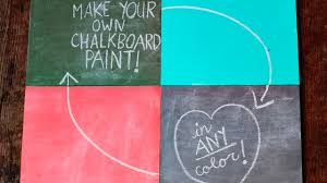 mix your own chalkboard paint in any colour lifehacker australia