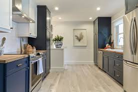 what color floor with blue cabinets 15 gorgeous blue kitchen designs you ll want to re create