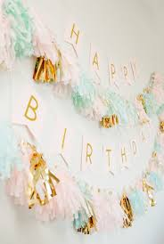 1st Birthday Party Decorations Homemade Modern Gold Pastel 1st Birthday Party Filled With Diys