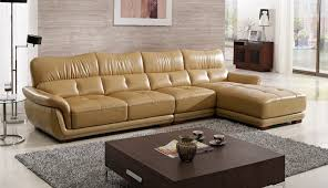leather sofa free delivery free shipping modern design sofa yellow top grain cattle leather
