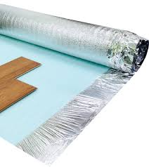 Laminate Floor Padding Underlayment Acoustic White Foam 2mm Laminate Wood Floor Underlay 1 Roll 15m2