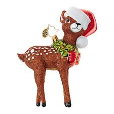 christopher radko ornaments radko animal oh deer me 1018885