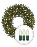 pre lit wreaths garlands foliage balsam hill