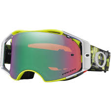 100 motocross goggle accuri chapter oakley airbrake flo red white prizm goggles motard pinterest