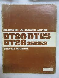 1982 suzuki outboard motor dt 20 25 28 service repair manual 99501