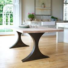 Dining Table White Legs Wooden Top Dining Table Wooden Dining Table Legs For Sale Shape Black Steel