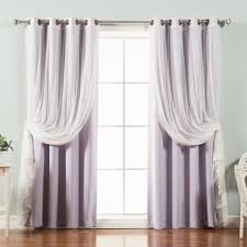 Plum Blackout Curtains Buy Purple Blackout Curtains From Bed Bath U0026 Beyond