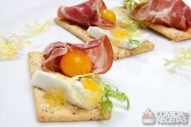 canape de receita de canapé de damasco com queijo comida e receitas