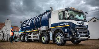 volvo trucks uk volvo fmx is a crystal clear choice for waters waste services
