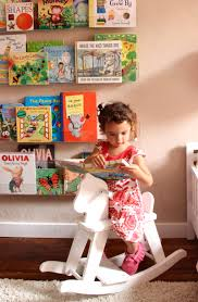 girls u0027 room acrylic bookshelves u0026 a library wall pepper design blog