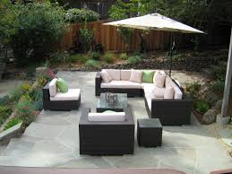 modern patio furniture with chic treatment for fancy house plus big