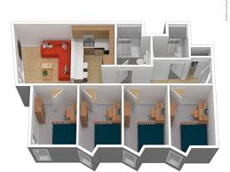 2 floor bed 4 bed apartments the