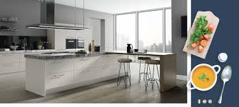 the vivo gloss kitchen range on trend collection
