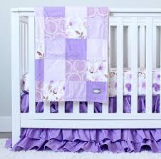 Pink Floral Crib Bedding Lavender Floral Crib Bedding Floral Baby Bedding Purple