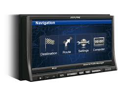advanced navi station alpine ina w910r