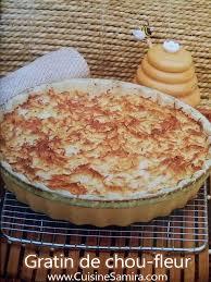 cuisine samira gratin gratin de chou fleur par cuisine samira recette cuisine samira