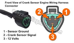 part 1 how to test the crank sensor 1994 2004 3 0l montero