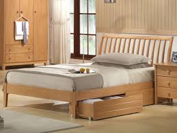 joseph wales bed frame double maple wooden bedstead