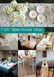 diy table runner ideas 7 diy table runner ideas goodwill michiana