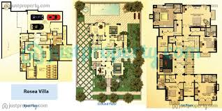 villa floor plan dubai lifestyle city villas floor plans justproperty