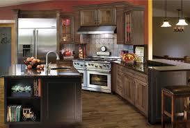 cabinets u0026 drawer walnut island with granite top dark wooden