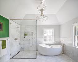 resplendent modern false ceiling light over vanity as well