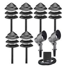 Landscape Lighting Kits Low Voltage Landscape Lighting Sets Crafts Home