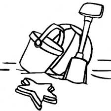 bucket filling coloring pages how to draw beach bucket coloring pages how to draw beach bucket