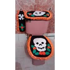 imagenes de halloween para juegos de baño juego de baño con calaveras para halloween en mercado libre méxico